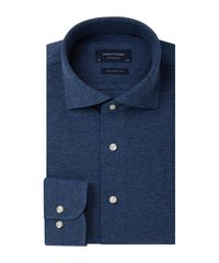 Jeans mélange knitted shirt