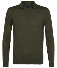 Army long sleeve polo