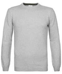 Grey crewneck jumper