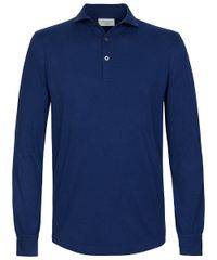 Royal long sleeve polo