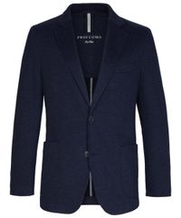 Navy two-tone jacket