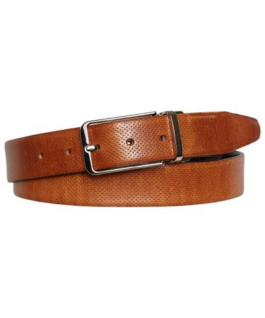 BELT REVERSIBLE COGNAC BROWN