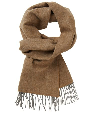 SCARF WOVEN TAUPE