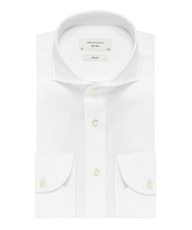 Wit imperial oxford overhemd