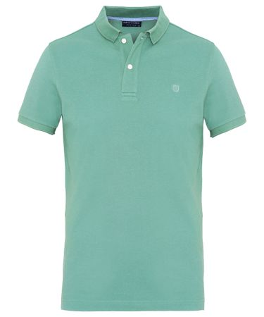 Mint katoenen polo