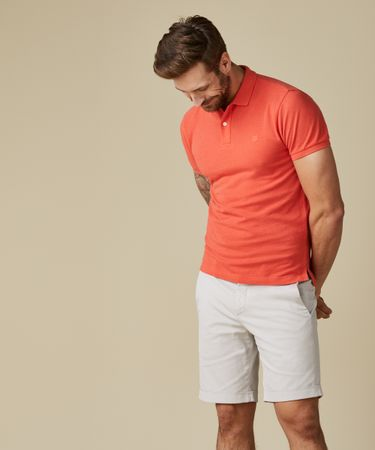 POLO SS BRIGHT ORANGE