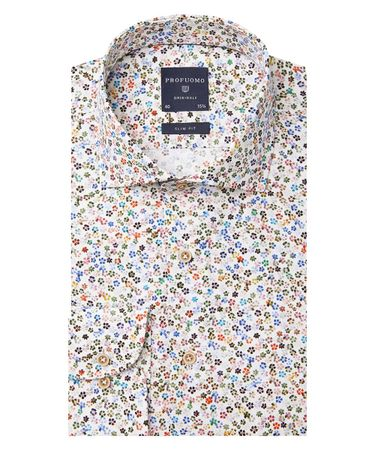 SHIRT CUTAWAY SC SF  MULTICOLOUR