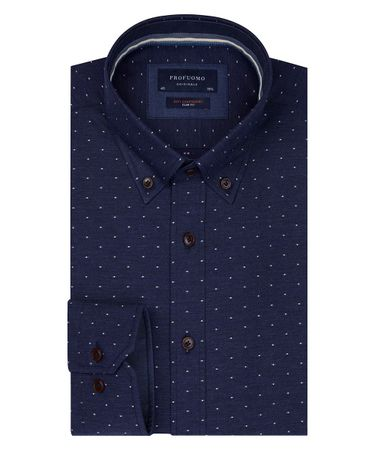 SHIRT BUTTON DOWN SC SF NAVY