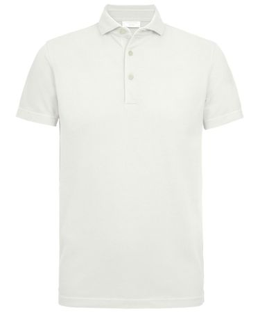 Witte garment dyed polo