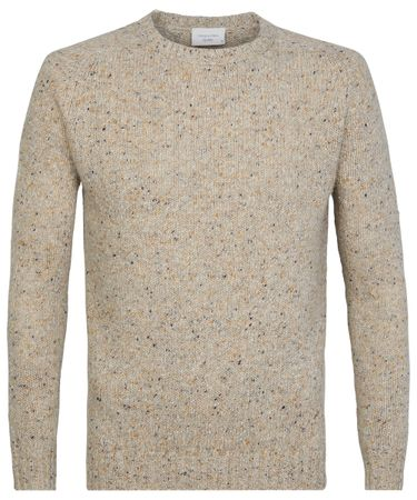 Beige Donegal knit