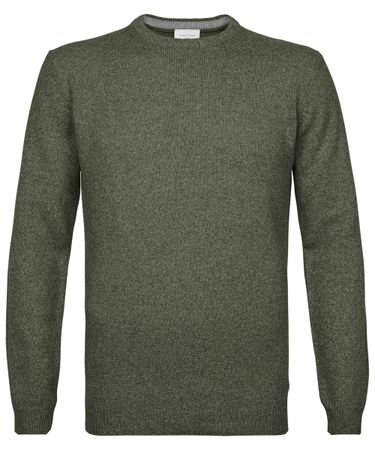 Green crewneck jumper
