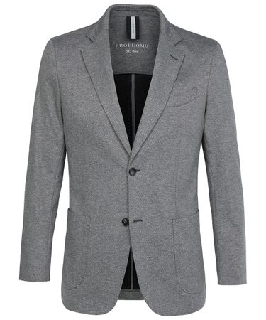 Grey knitted jacket
