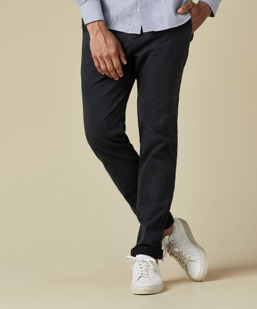 TROUSER CHINO GD NIGHT BLUE