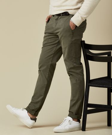 TROUSER CHINO GD ARMY