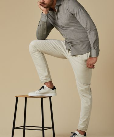 TROUSER CHINO GD BEIGE