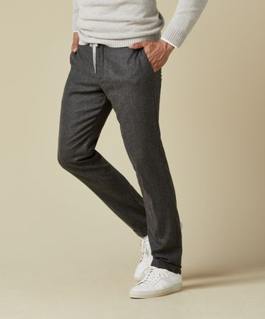 TROUSER FLANNEL SPORT GREY