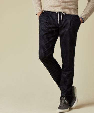 TROUSER STRIPE SPORT NAVY