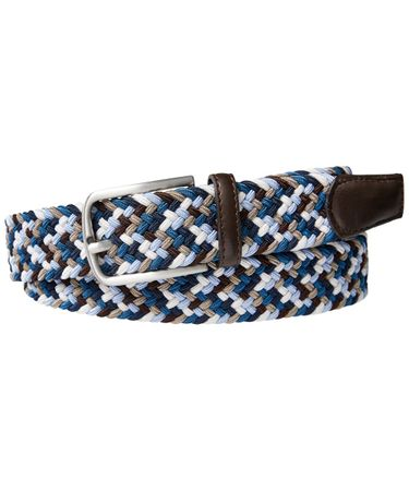BELT ELASTICATED BLUE
