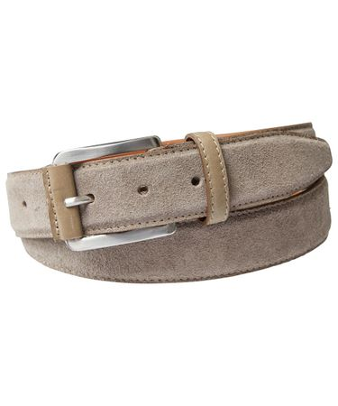 BELT SUEDE TAUPE