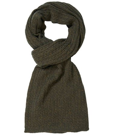 SCARF KNITTED OLIVE