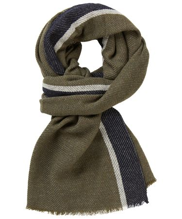SCARF WOVEN OLIVE