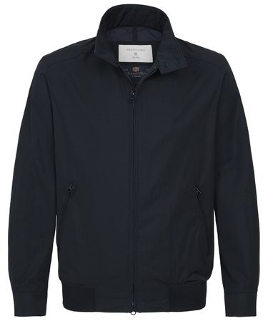Navy klassiek drizzler jacket