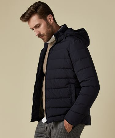 OUTERWEAR DOWN JACKET NAVY