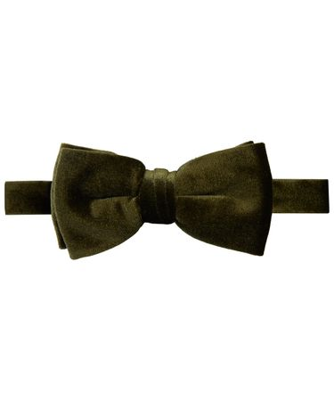 BOWTIE POLY WOVEN ARMY