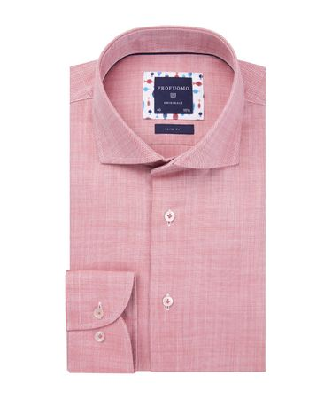 SHIRT CUTAWAY SC SF  RED