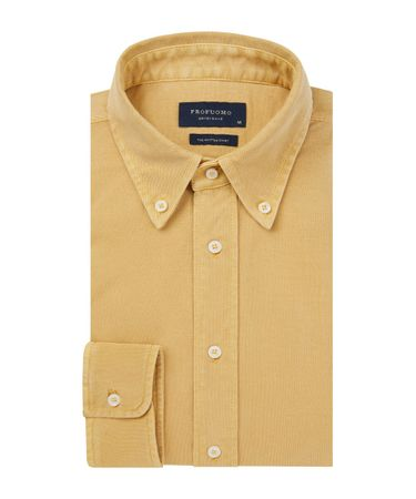 SHIRT BUTTON DOWN SC SF  YELLOW