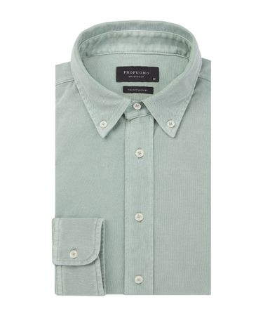 SHIRT BUTTON DOWN SC SF GREEN