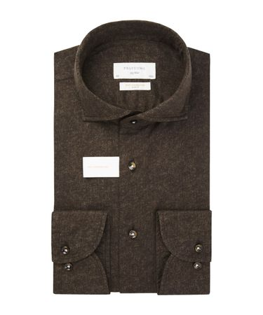 SHIRT X CUTAWAY SC SF BROWN