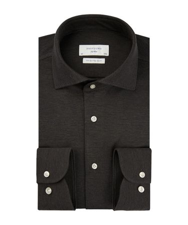 SHIRT CUTAWAY SC SF BROWN