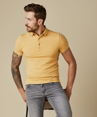 POLO SS YELLOW