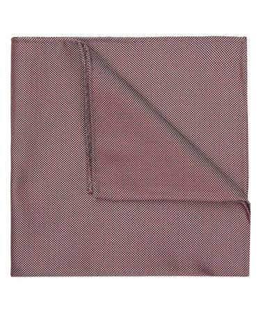 HANKY SILK WOVEN RED