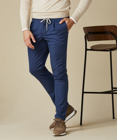 TROUSER SPORTCORD GD NAVY