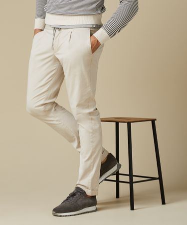 TROUSER SPORTCORD GD BEIGE