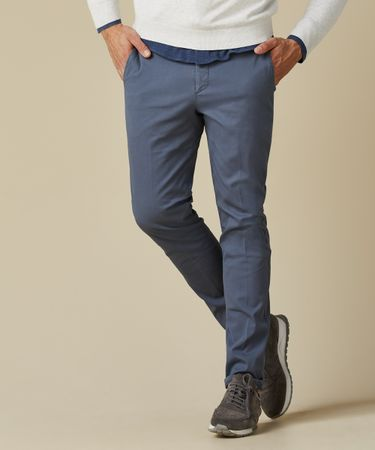 TROUSER CHINO COTELEE GD DENIM