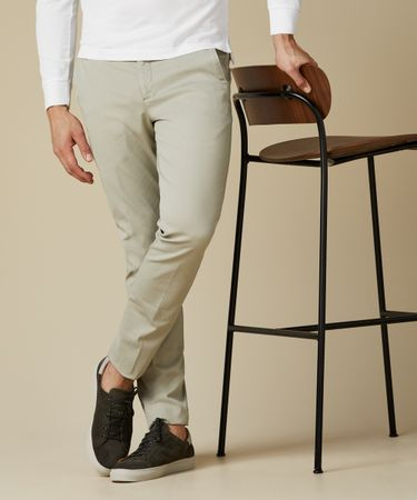 TROUSER CHINO COTELEE GD GREEN
