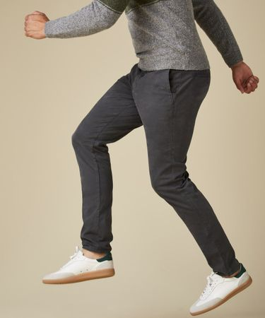 TROUSER GD SF CHINO MID GREY