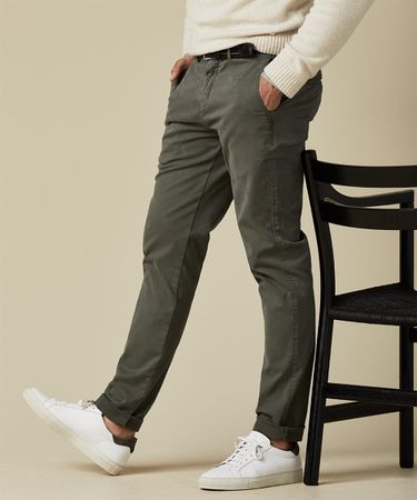 TROUSER GD SF CHINO ARMY