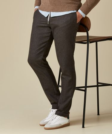 TROUSER SPORTCORD BROWN