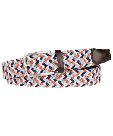 BELT ELASTICATED ORANGE
