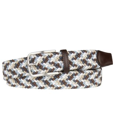 BELT ELASTICATED BROWN