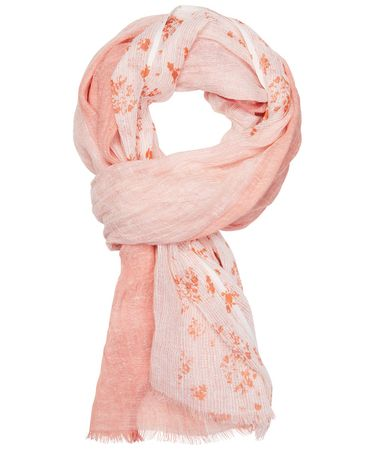 SCARF PRINTED ORANGE