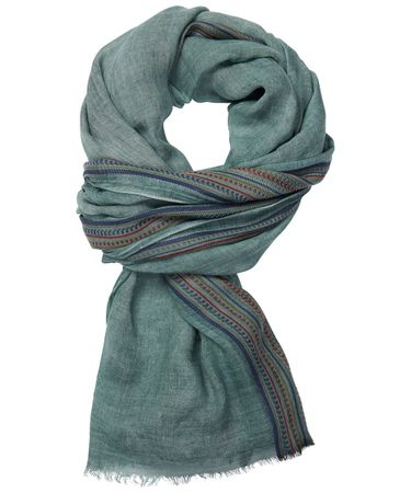 SCARF WOVEN GREEN