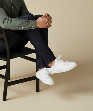 SNEAKERS BASIC WHITE
