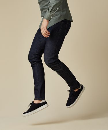 SNEAKERS BASIC SUEDE NAVY