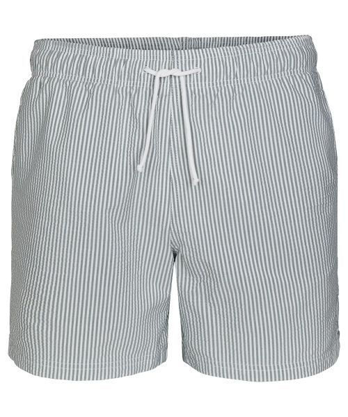 Zwembroek Short.Profuomo Army Striped Seersucker Swimshort New Arrivals